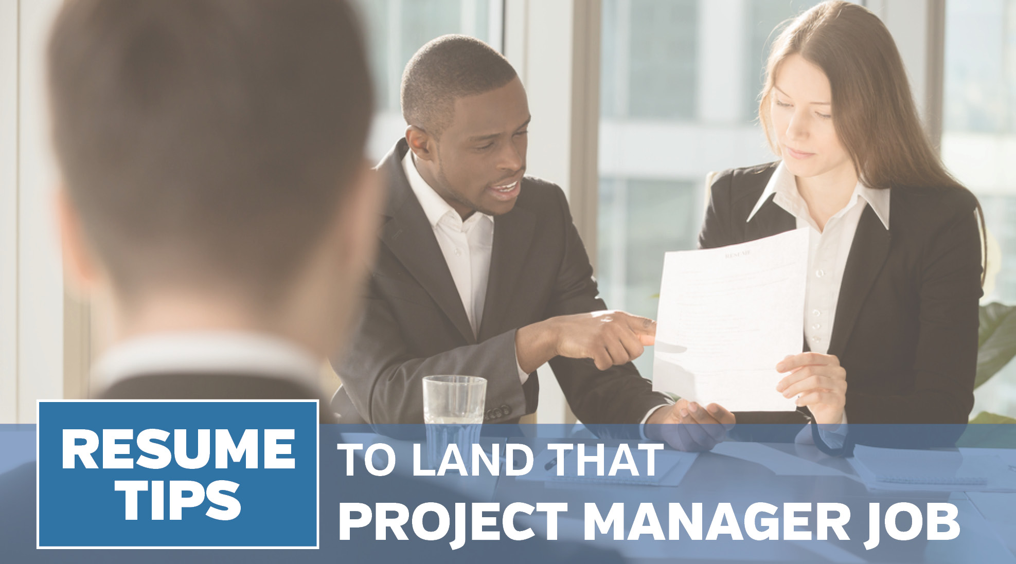 job application project management skills blurb
