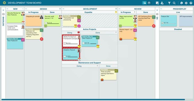 flexible project management web application