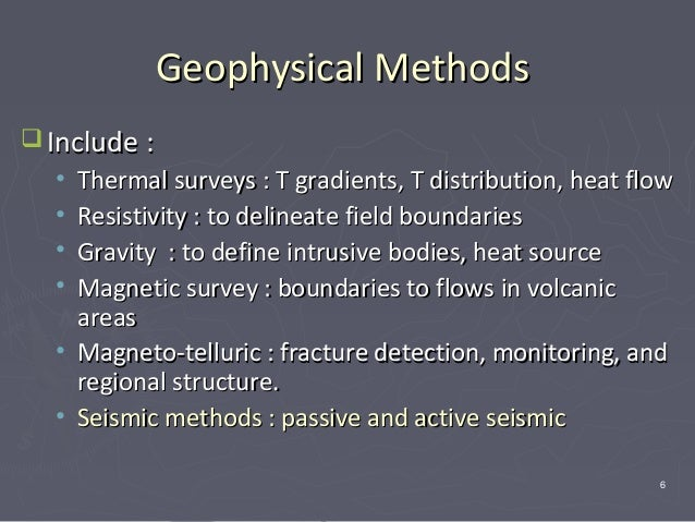 application of gravity survey method