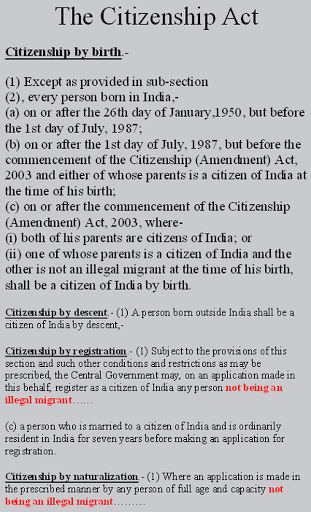what is citizenship on a passport application