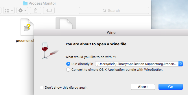 how to run application in mac