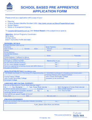 competency based application form answers