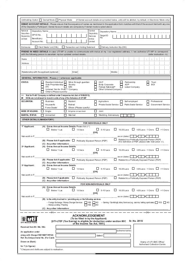 investors mutual equity income fund application form