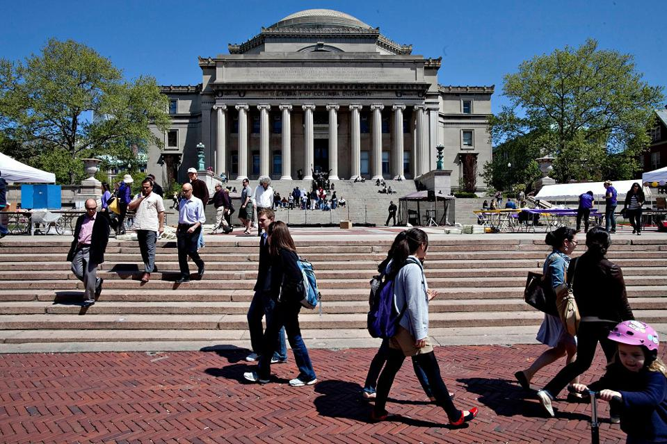 columbia university mba program application