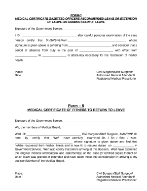 medical leave application form in tamil