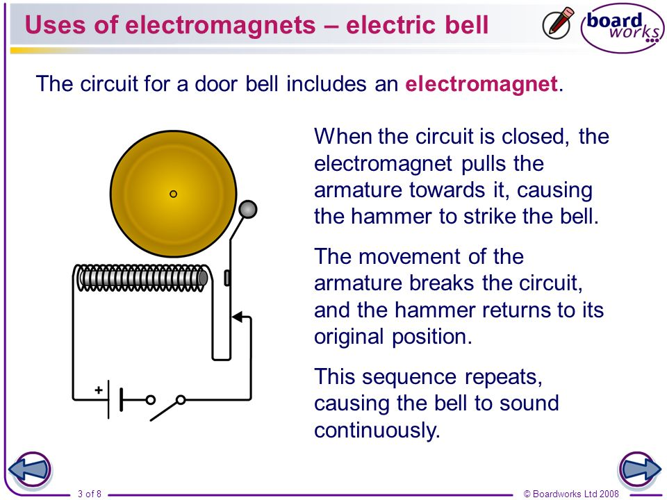 list four practical applications of electromagnets