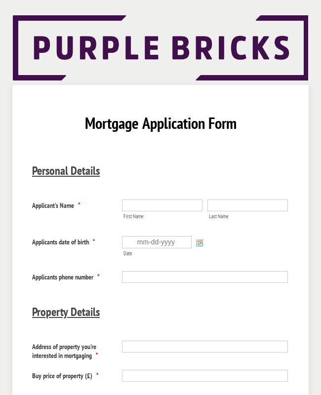 mig real estate application form