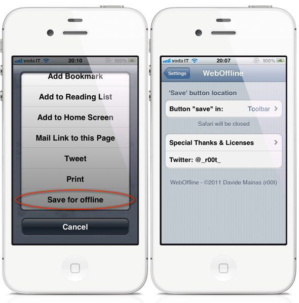 ios where to save application data