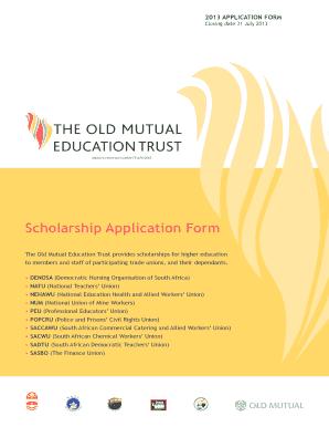 old mutual bursary application forms 2018 pdf