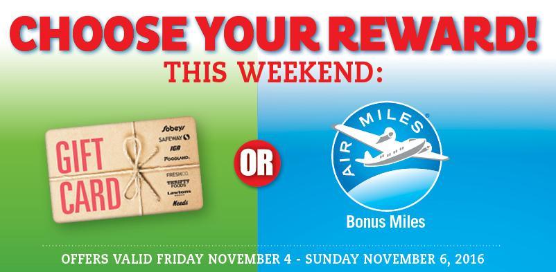 air miles card application canada