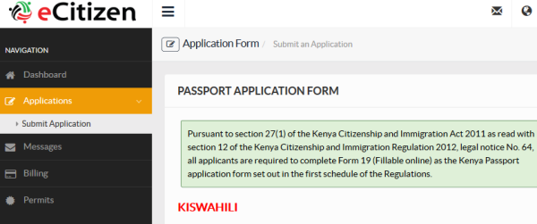 application form for australian citizen