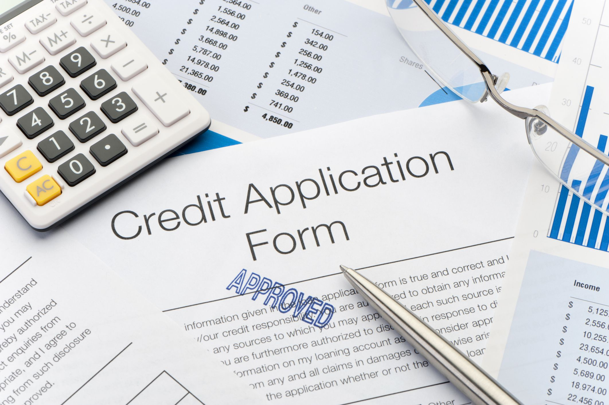 what is a credit application for a car