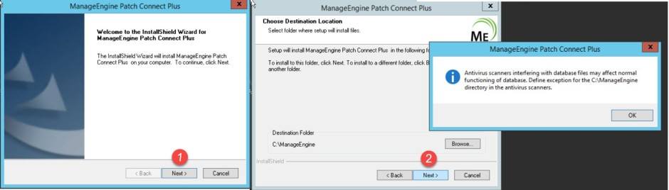 sccm install application and pacth