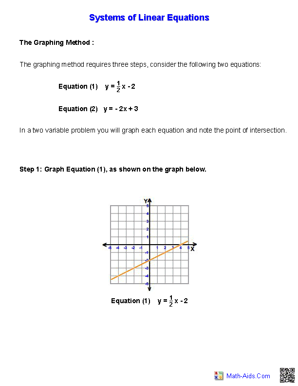 applications of matrices to simultaneous equations