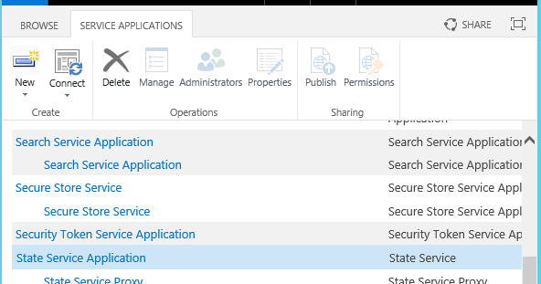 how to create an application in sharepoint