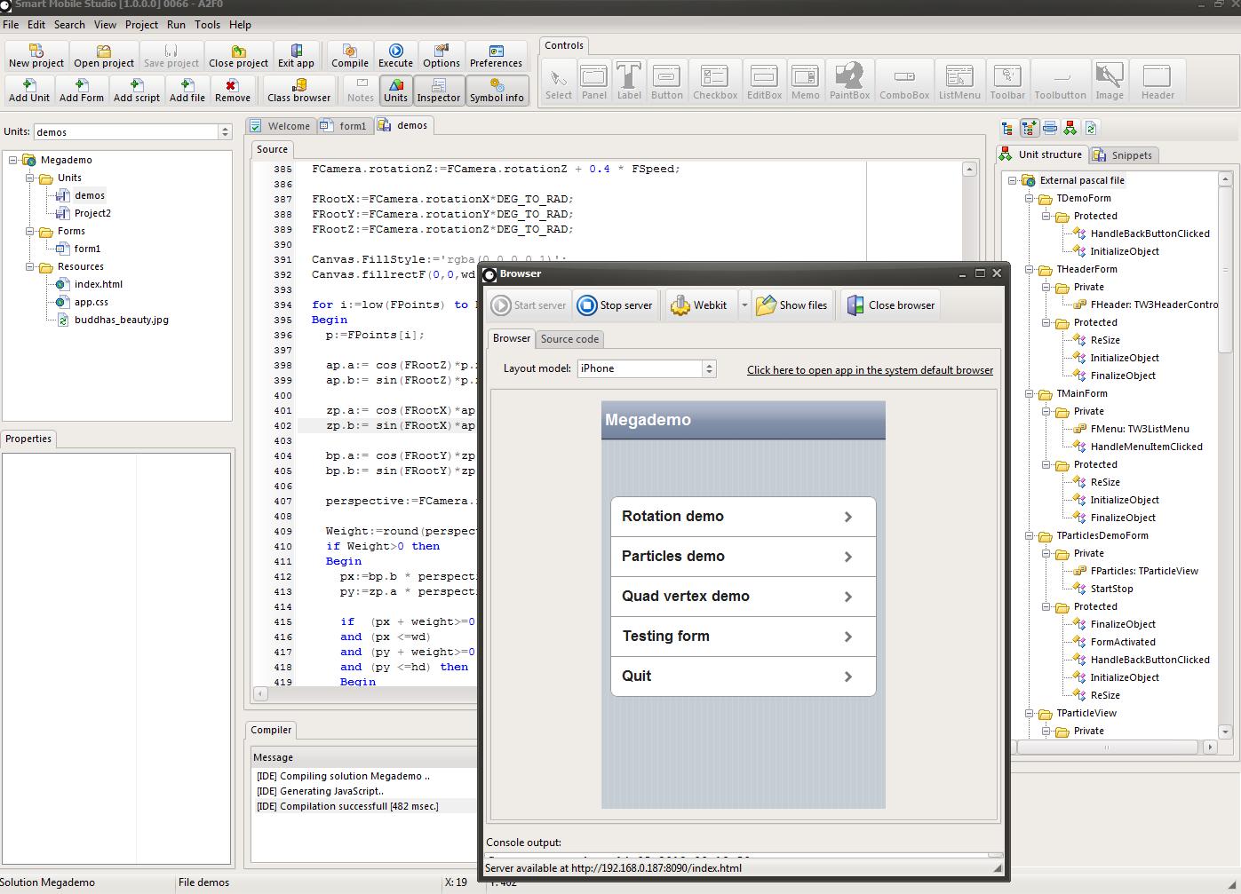 rapid application development tools visual basic