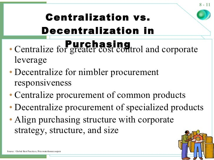 applicability of procurement for decision making