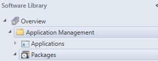 applications dependancy configuration in sccm console