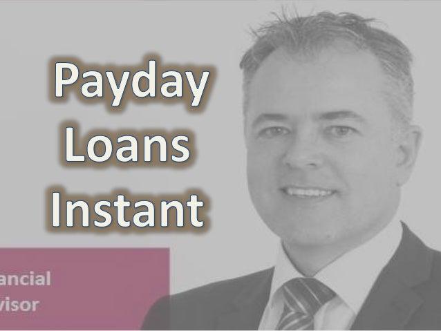 instant cash loans application process