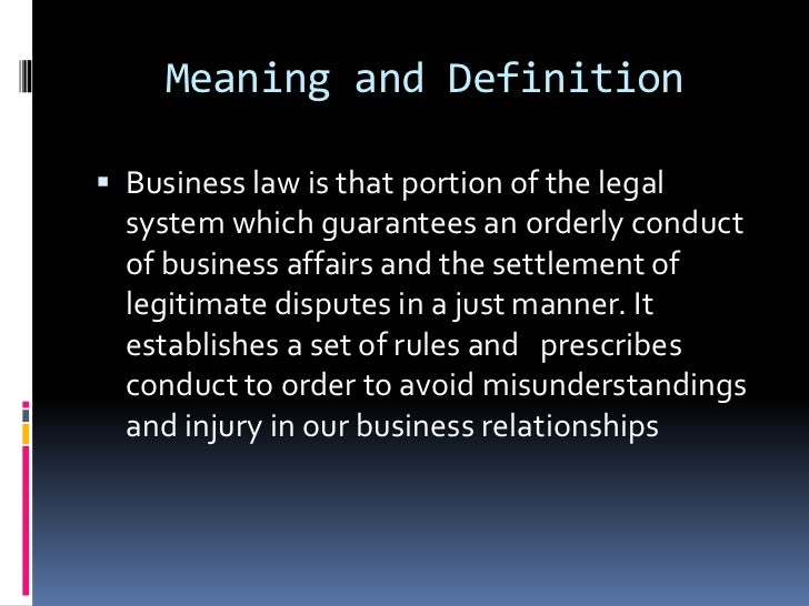 contract definition of applicable laws