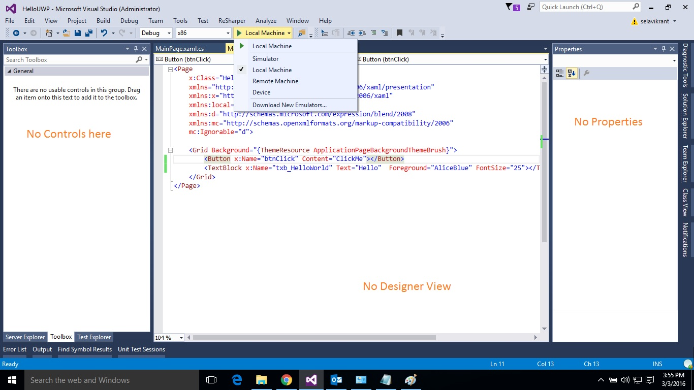 application insights tools for visual studio package