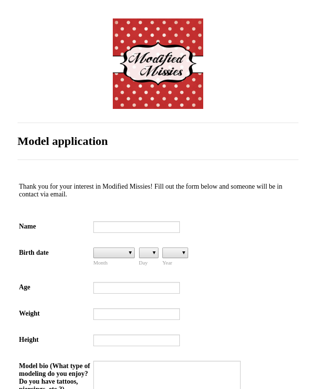 staff application for gmod form template