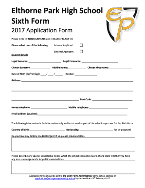 settlers high school application forms