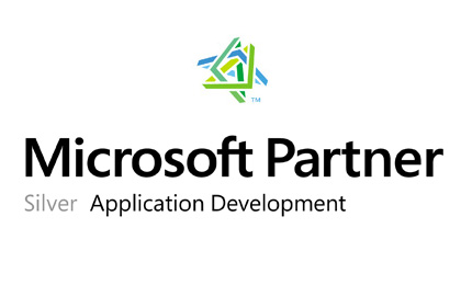 microsoft silver application development logo