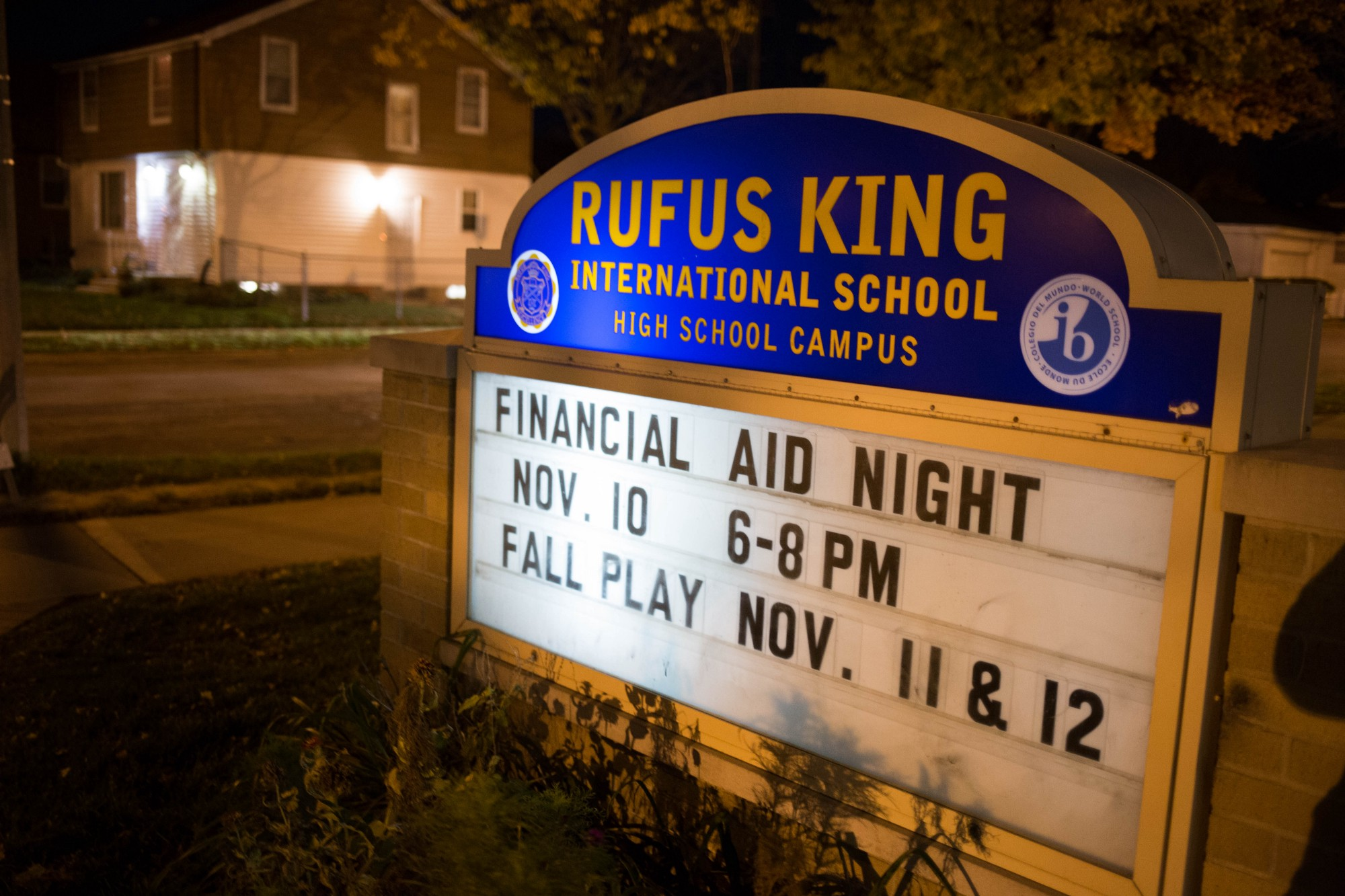 rufus king high school application