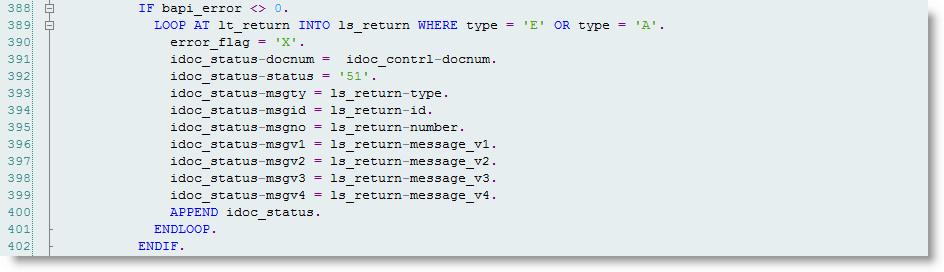 sap abap write to application log