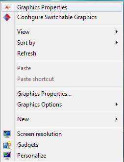 switchable graphics not showing applications
