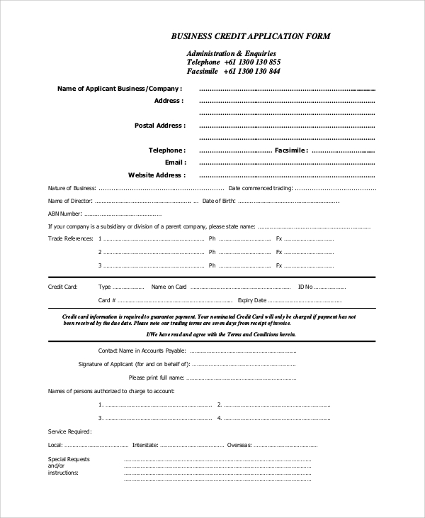 tax file number form application