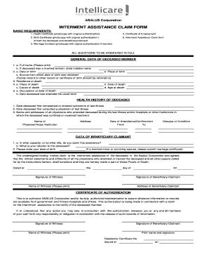tfn application online deceased estate