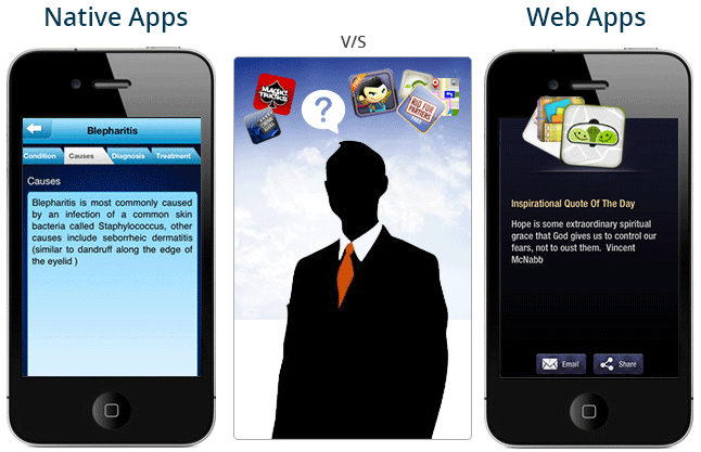 web application vs native apps